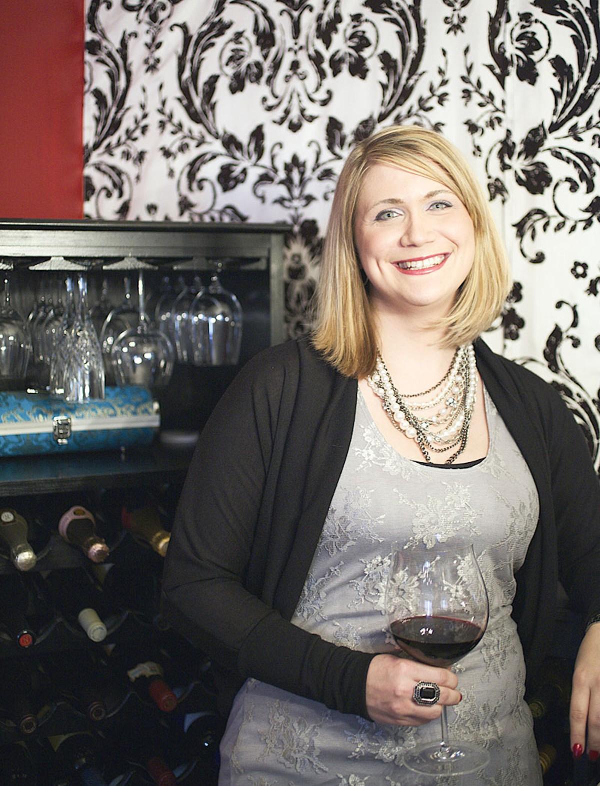 STL Wine Girl Angela Ortmann.