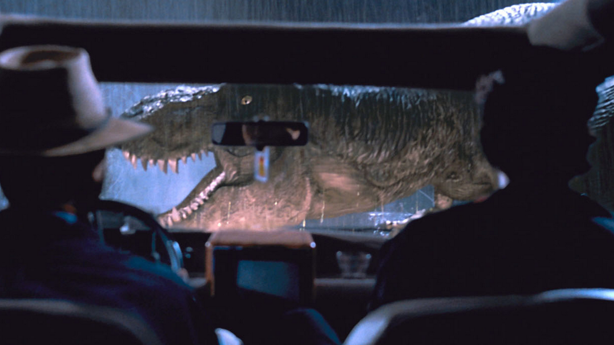 Those dinos come back to life in 3-D for this incarnation of Jurassic Park.
