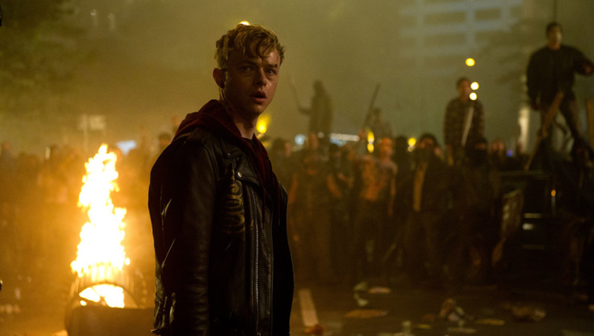 Dane DeHaan as Trip in Through the Never.