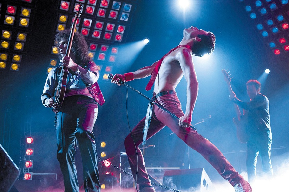 Brian May and Freddie Mercury (Gwilym Lee and Rami Malek) will rock you.