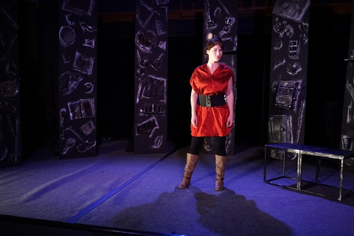 Faustus (Ashley Bauman) does it all for the ladies.