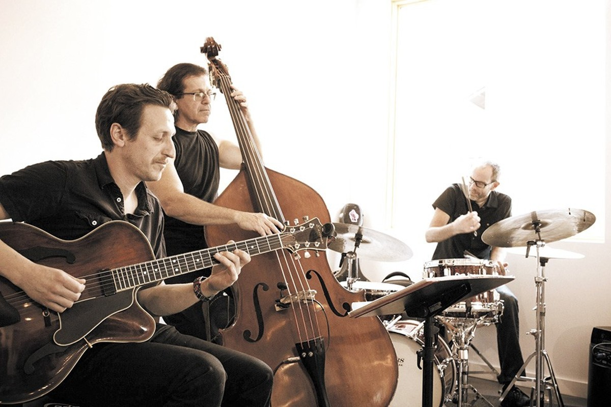Out of Nowhere is the first release by a highly regarded player in St. Louis' jazz scene.