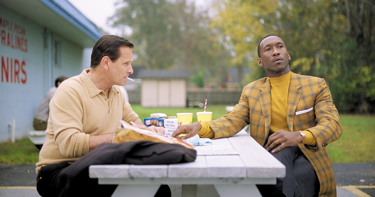 Tony and Don (Viggo Mortensen and Mahershala Ali) learn about each other and the world on a trip through 1960s America.