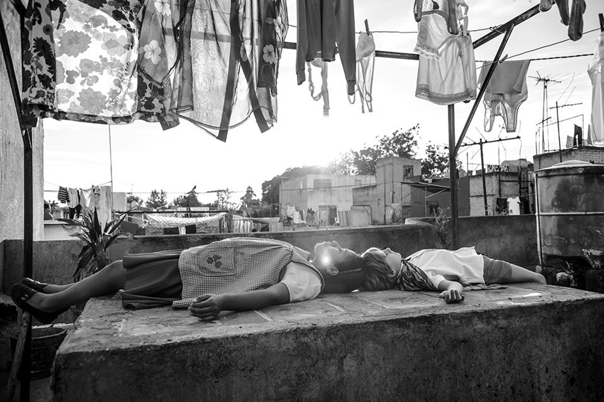 Roma depicts the Mexico City of Alfonso Cuarón's memory.