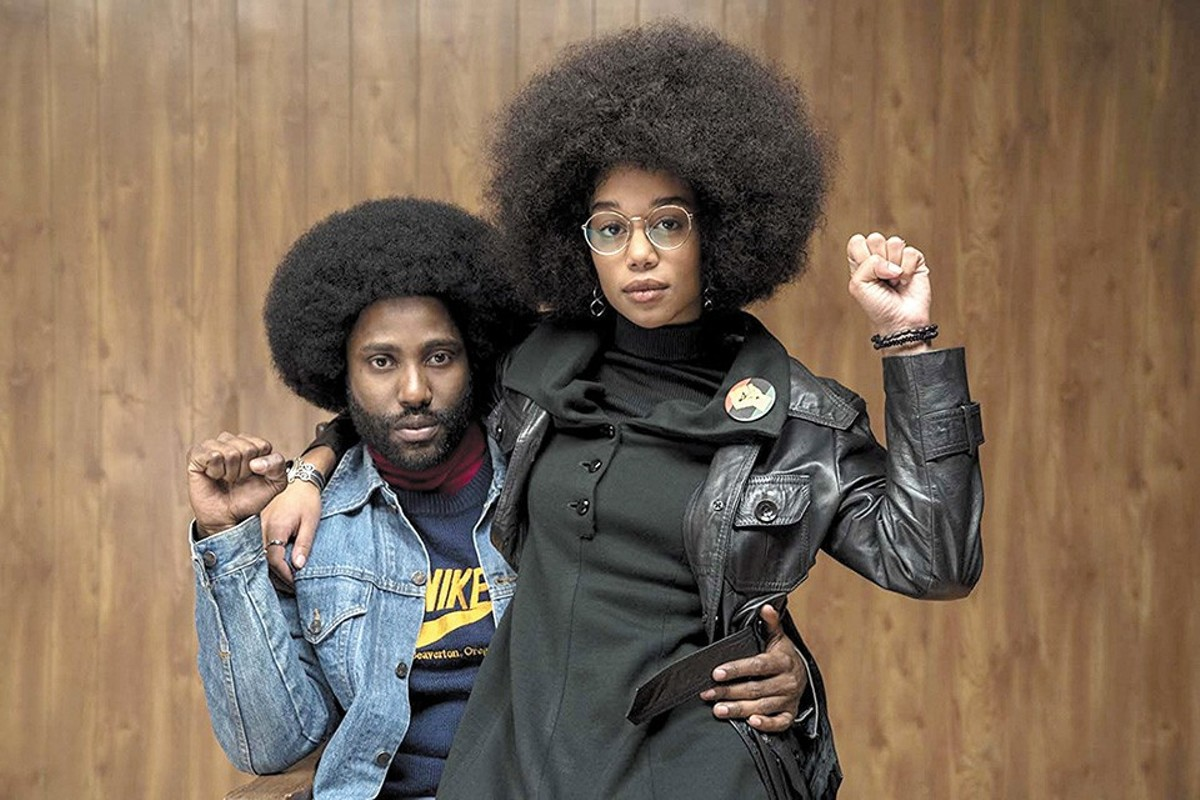 BlacKkKlansman's John David Washington and Laura Harrier star in one of the year's best movies.