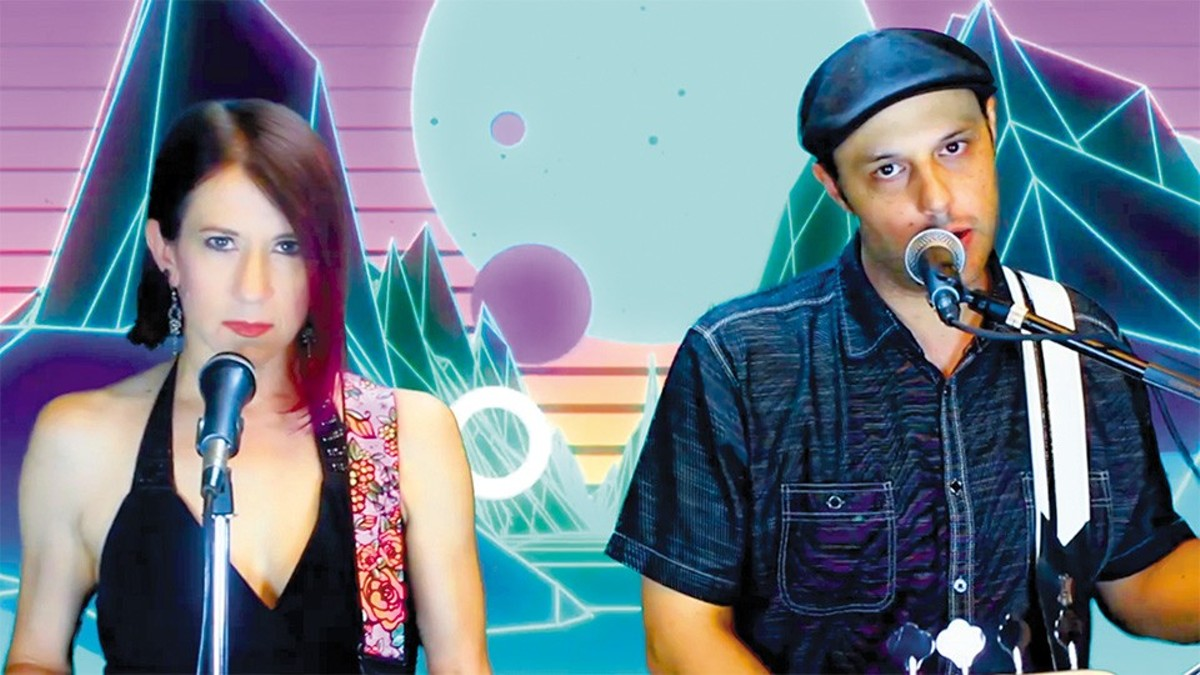 Husband and wife duo Ben and Kim Hanvy have collaborated with musicians across the world for the project.
