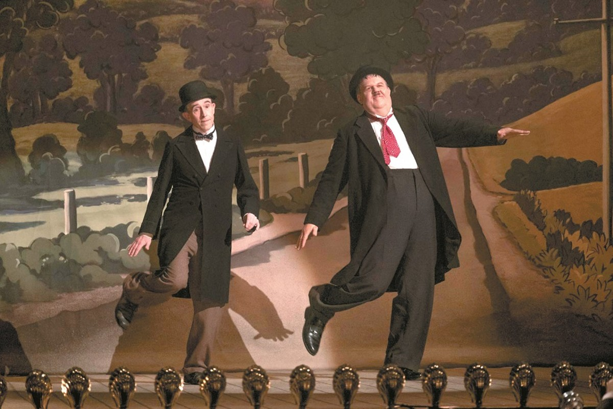 Stan Laurel and Oliver Hardy (Steve Coogan and John C. Reilly) together were more than the sum of their parts.