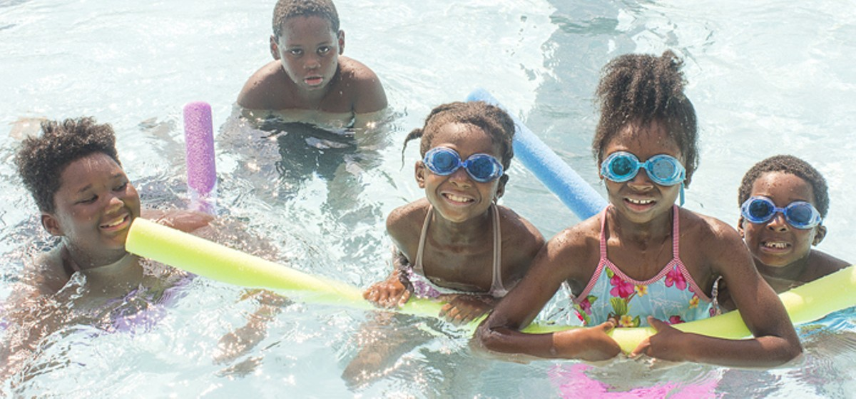 Neighbors celebrated when Marquette Public Pool reopened this summer.