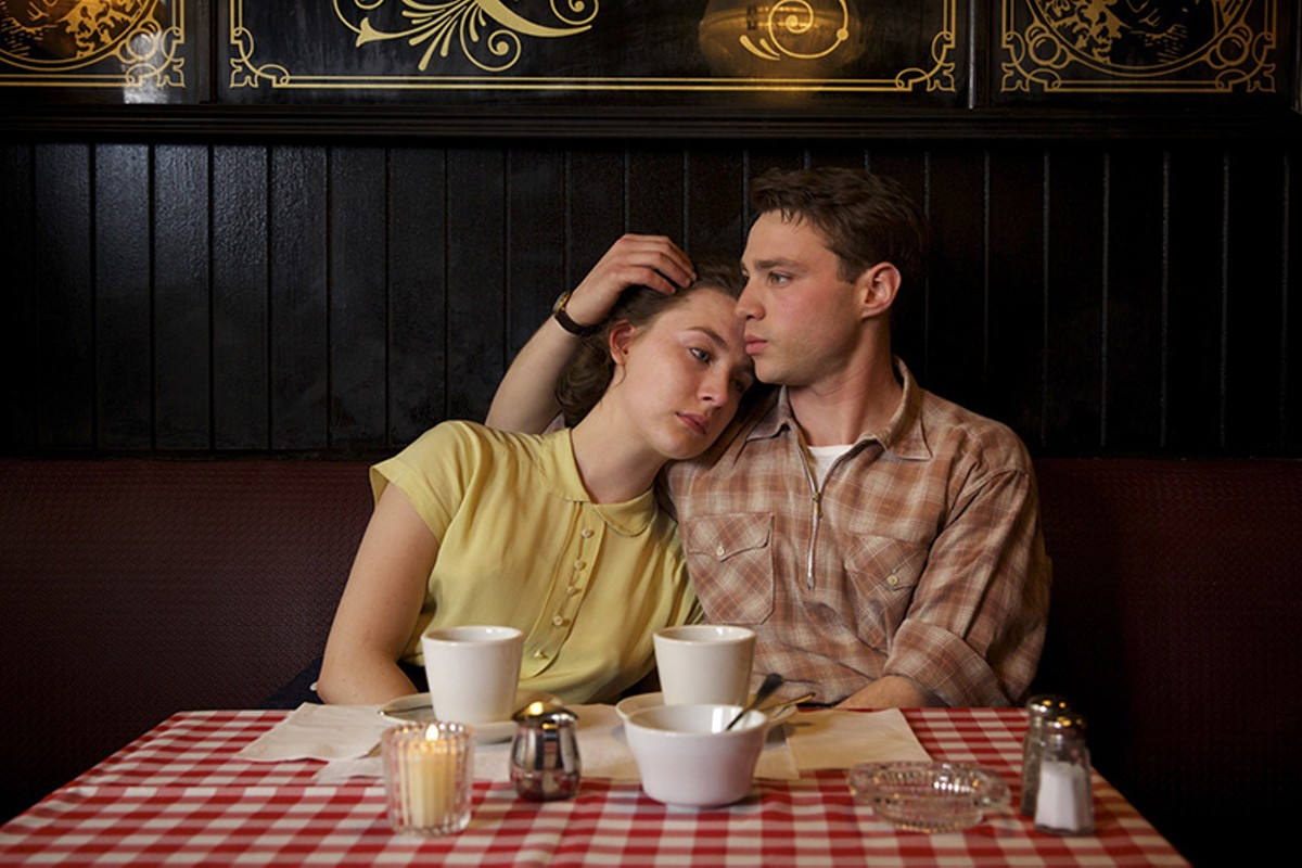 Saoirse Ronan and Emory Cohen in Brooklyn.