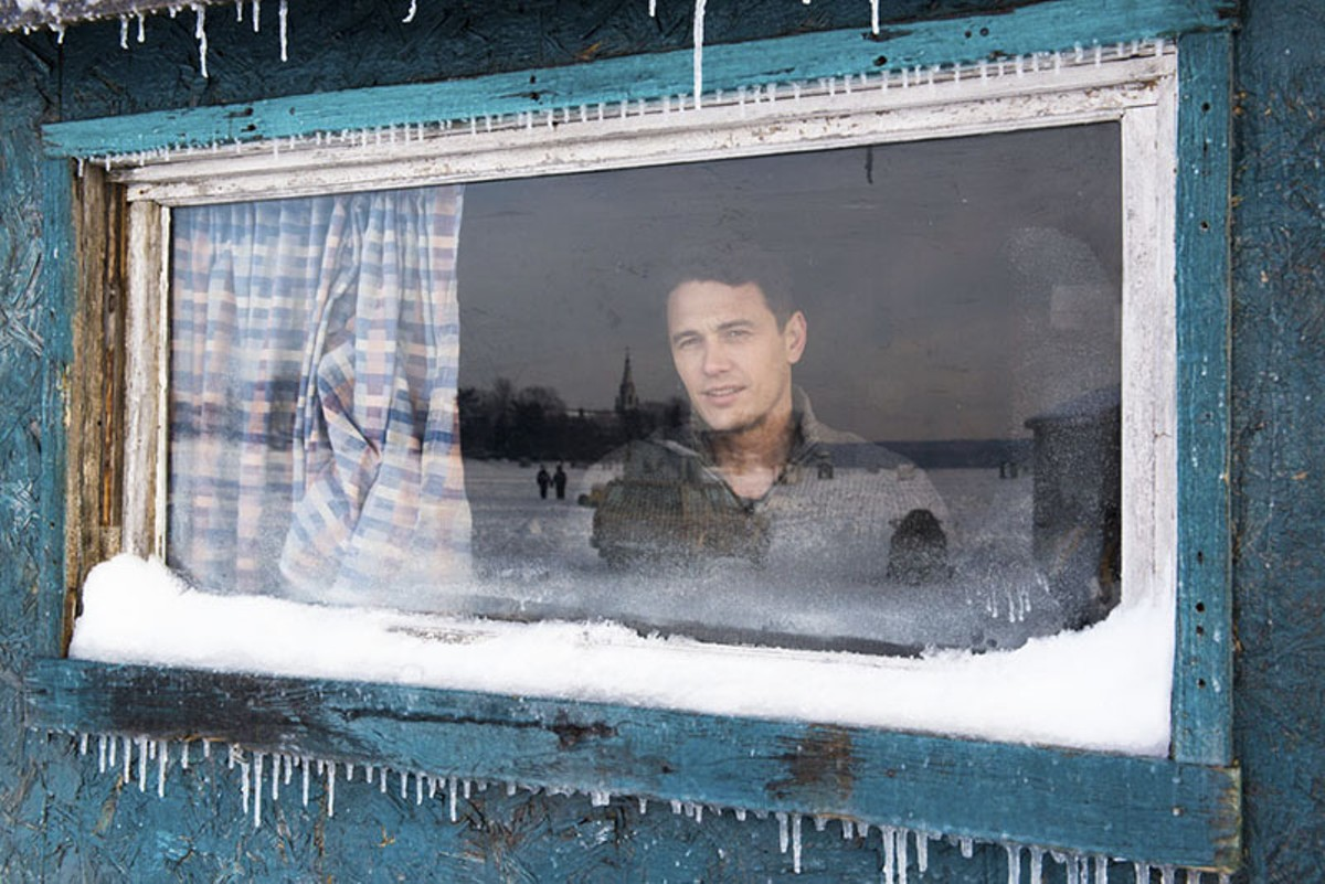 A long, tragic winter for James Franco.