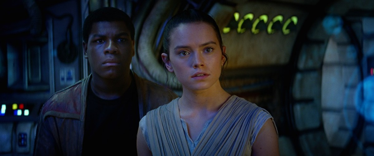 Daisy Ridley and John Boyega -- Star Wars stars for a new generation.