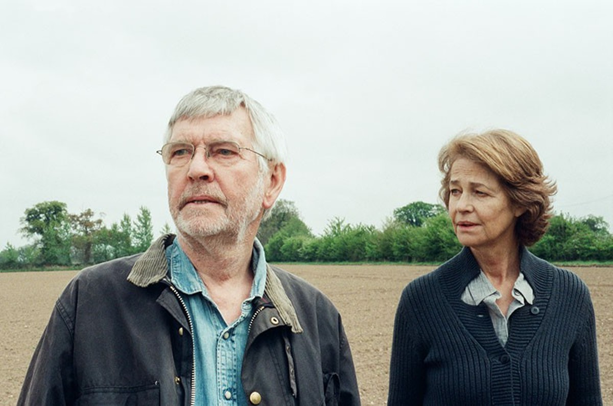 Tom Courtenay and Charlotte Rampling, underused.
