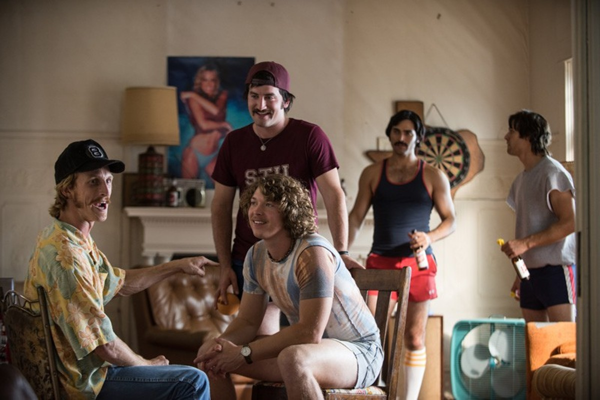 Austin Amelio, Tanner Kalina, Forrest Vickery, Tyler Hoechlin and Ryan Guzman