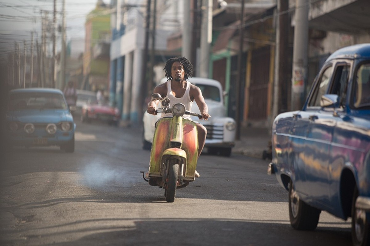 Dennis (Aml Ameen) leaves Jamaica for the mean streets of England and revenge.