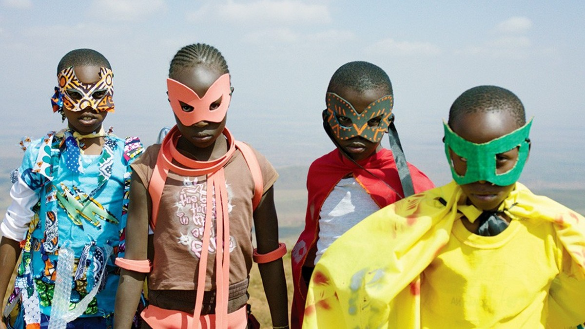 Supa Modo is a Kenyan superhero story in real life.