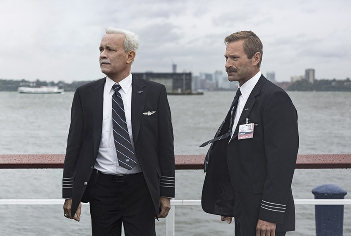 Aaron Eckhart and Tom Hanks make a great team in Sully.
