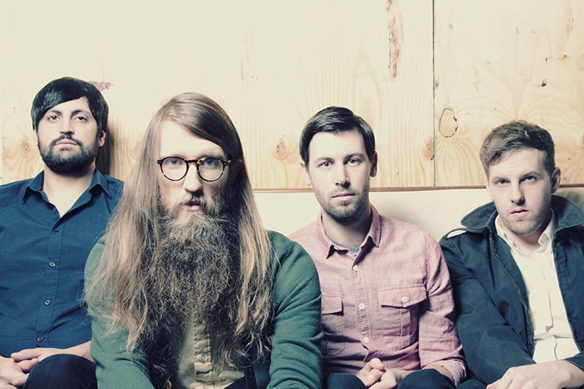 Chicago's Maps & Atlases is just one of the sixty-plus bands that will perform at Whoopsie Fest.
