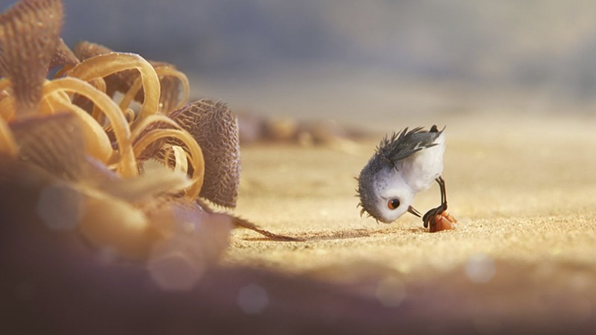 "Pixar's offering, ""Piper"" has a modest plot but many delights."