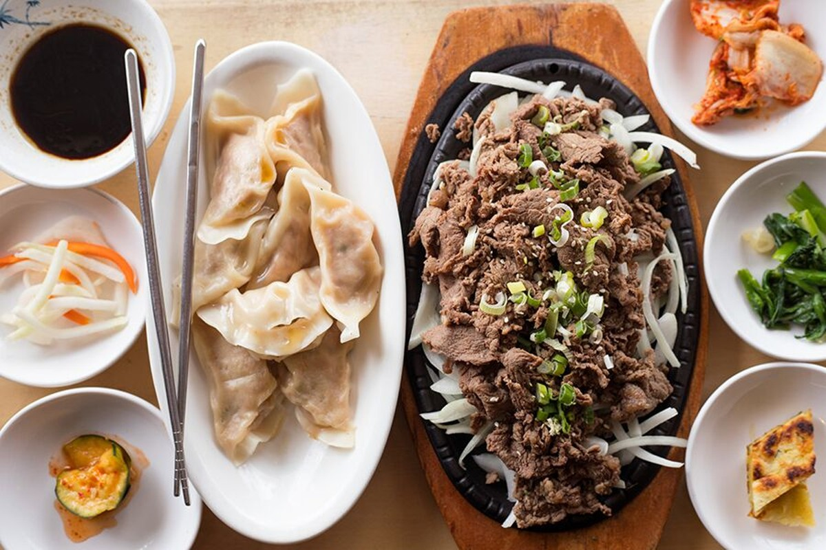 Asian Kitchen is serving Taiwanese dumplings in addition to Korean specials such as bulgogi.