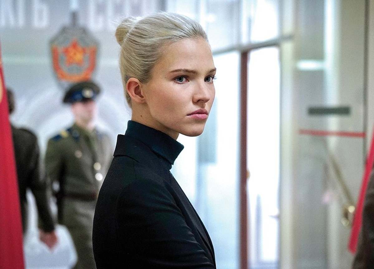 Anna (Sasha Luss) is an international assassin.