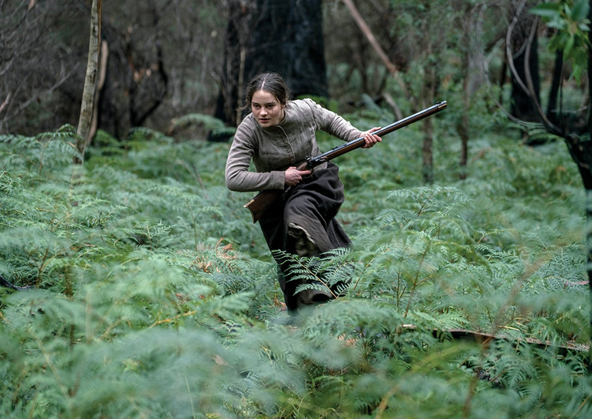 Clare (Aisling Franciosi) traverses the Australian wilderness for revenge.
