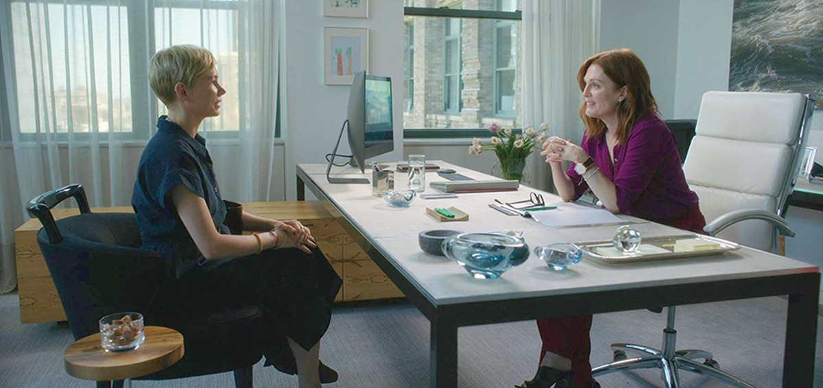 Michelle Williams and Julianne Moore in After the Wedding.