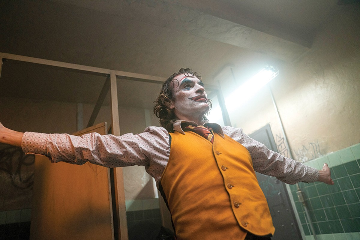 Joaquin Phoenix as Arthur Fleck in Warner Bros. Pictures, Village Roadshow Pictures and BRON Creative's JOKER, a Warner Bros. Pictures release.