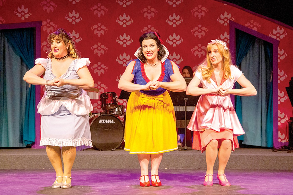 Cinderella, Snow White and Sleeping Beauty (Sarah Gene Dowling, Kelly Slawson and Dawn Schmid) are here to set the record straight.