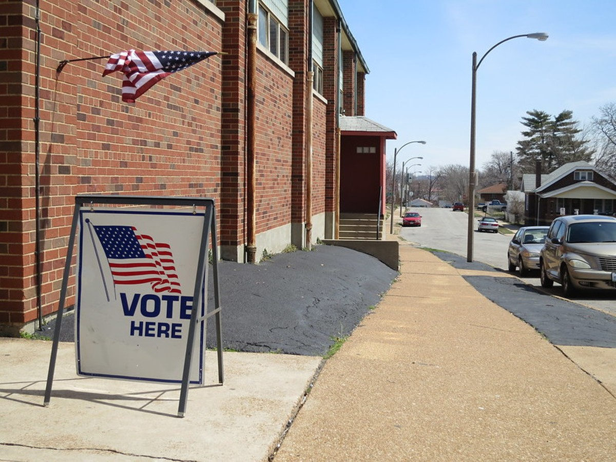 St. Louis could make a major change to its voting system.