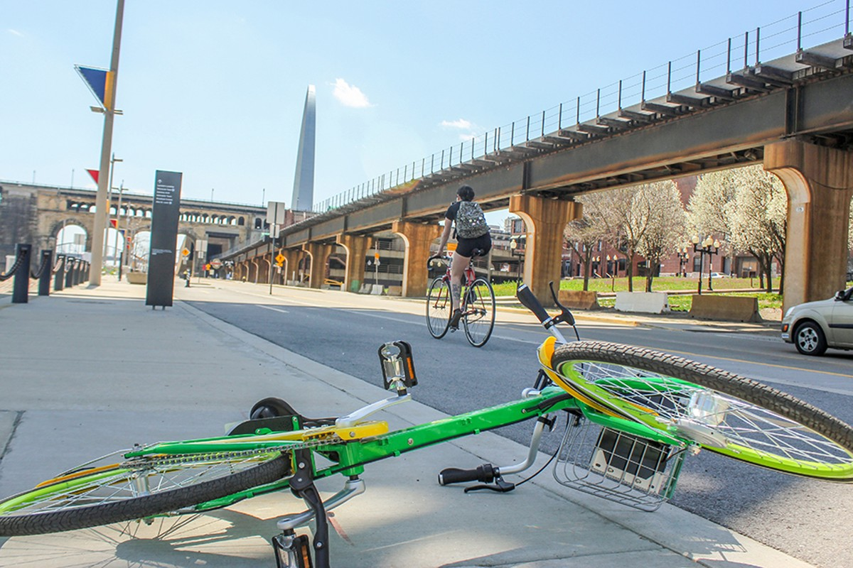 Get ready to ride on one of the St. Louis metro's many (growing) bike paths.