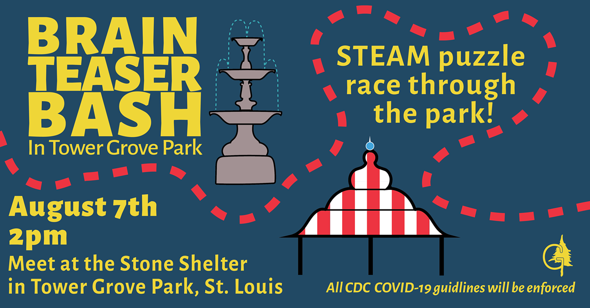 Join us for a STEAM puzzle race through the park!