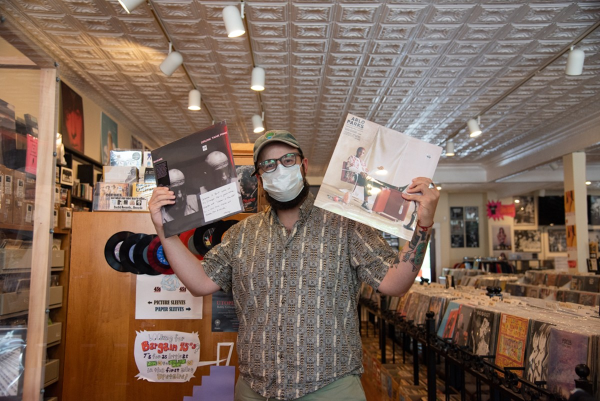 Aaron Mayfield of Euclid Records.