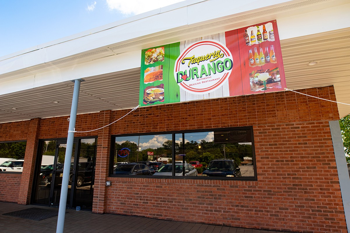 Taqueria Durango has returned after a fire in March 2020.