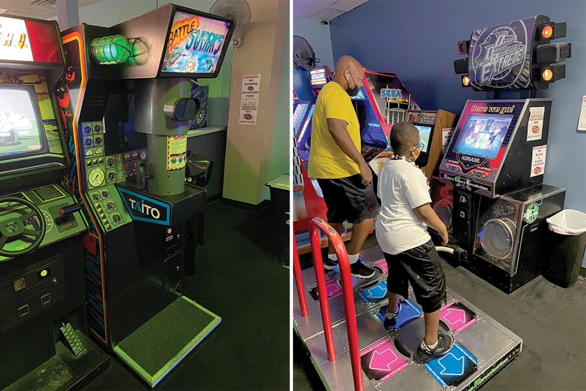 The gaming goes on and on at the Neutral Zone.