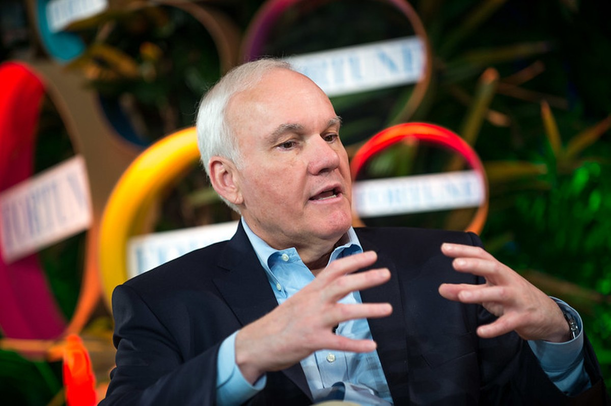 Andy Taylor, executive chairman of Enterprise Holdings Inc., speaking at Brainstorm Green 2012.