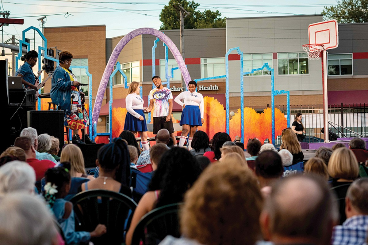 Shakespeare in the Street's 2019 performance of Love at the River's Edge.
