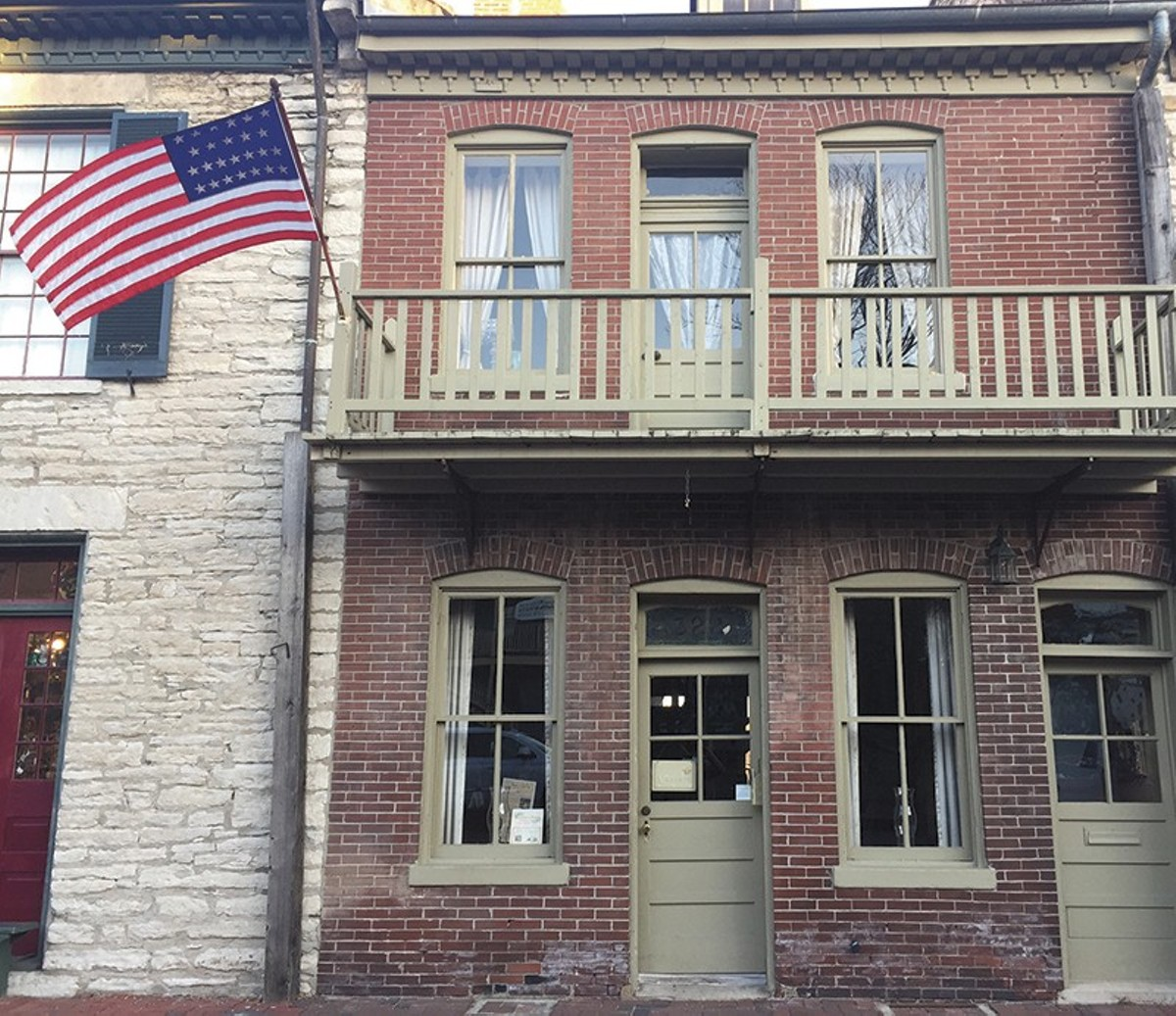 St. Charles was Missouri's first capital. Main Street has many buildings dating back to the early 1800s.