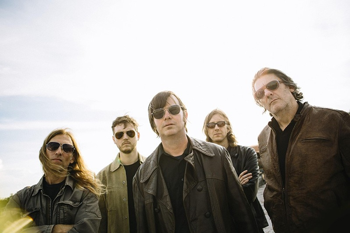 Jay Farrar, center, tries on the role of bluesman on Son Volt's latest album.