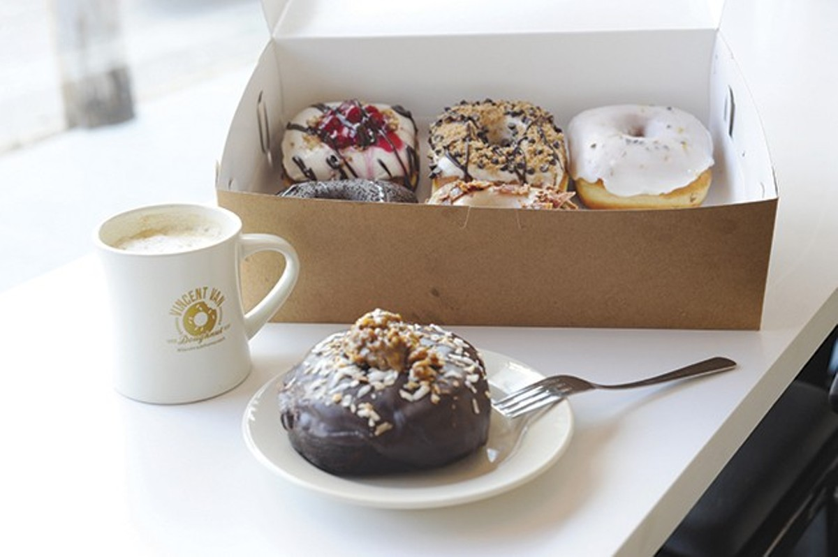 Vincent Van Doughnut: readers' choice for best donuts.