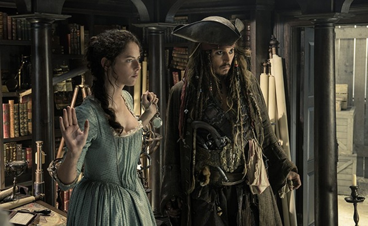 Sorry, Jack Sparrow. We're not feeling it, and neither is she.