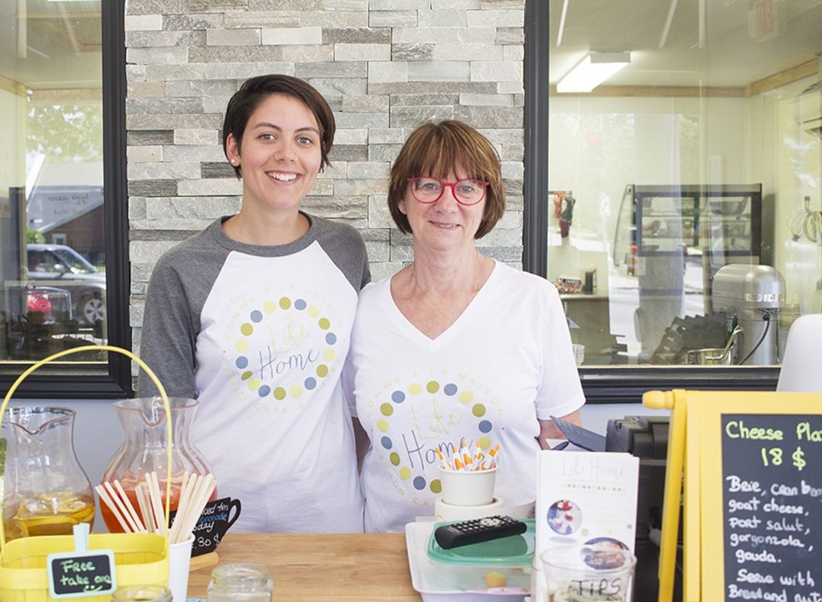 Clemence Pereur and her mother Marie-Christine moved to St. Louis to open Like Home.