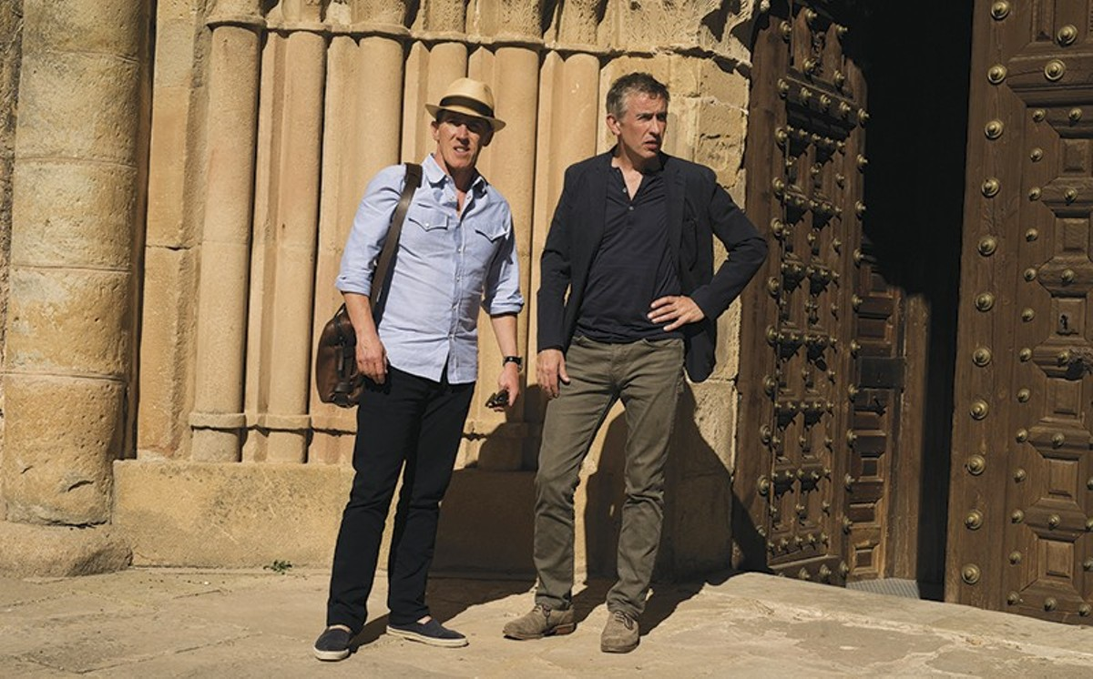 Rob Brydon and Steve Coogan are show-biz friends whose vacations together are work.