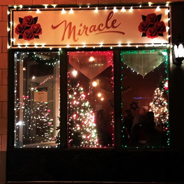 """Miracle on Chouteau"" was last year's version of the holiday-themed bar. - PHOTO BY ELIZABETH SEMKO."