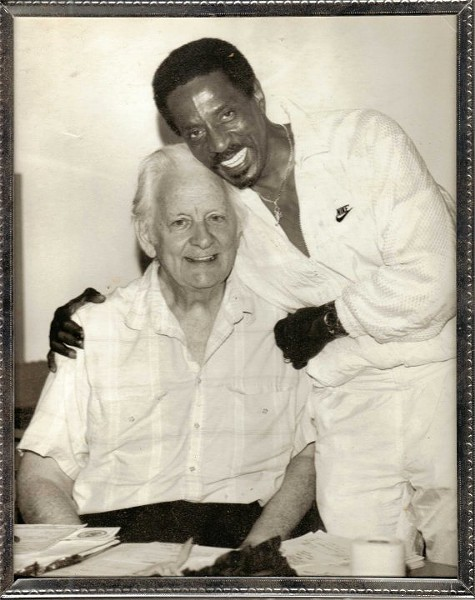 Ike Turner with Club Imperial owner George Edick. - COURTESY OF THE METRO ST. LOUIS LIVE MUSIC HISTORICAL SOCIETY VIA IMPERIALSWING.COM AND GREG EDICK