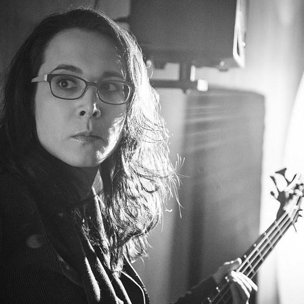 Michaela Kuba, new bassist. - PHOTO BY COREY WOODRUFF