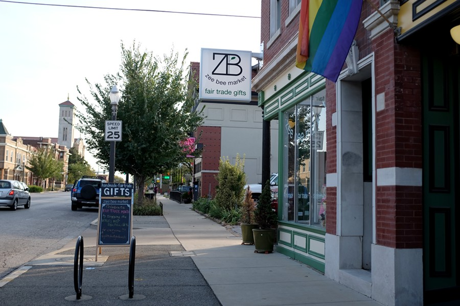 Zee Bee's original store is on South Grand. - HOLLY RAVAZZOLO