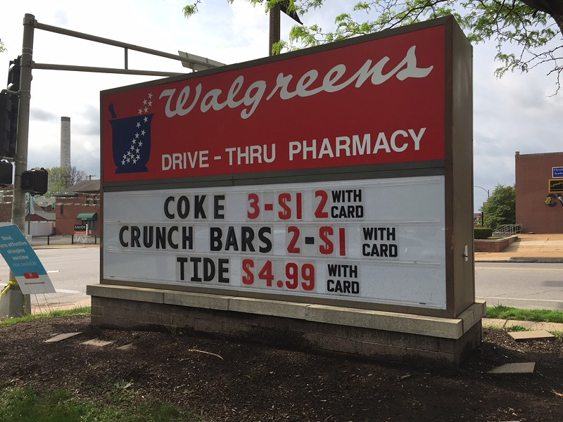 Regular ol' coke sign - PHOTO BY JAIME LEES