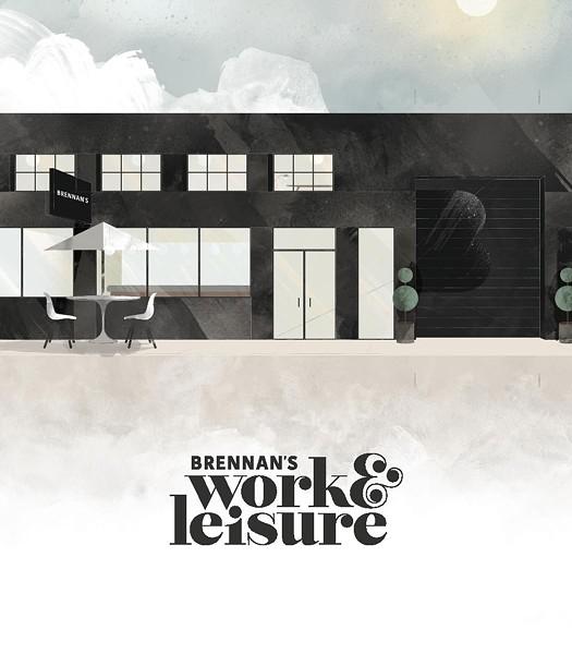 Artist's rendering of the new Brennan's Work & Leisure. - DAVID RYGIOL | @RYEJOL