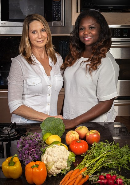 Joy Millner (left) and Gabi Cole joined forces in 2013 to start The Fit and Food Connection. - RICK MILLER PHOTOGRAPHY