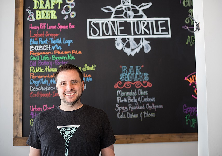 Co-owner Nick Funke has years of NYC restaurant experience. - MABEL SUEN